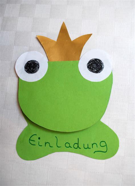 einladung froschkoenig kinderspiele weltde