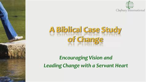 gtsh  biblical case study  change christian