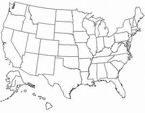 Best Photos of Large Blank United States Map - Blank ...