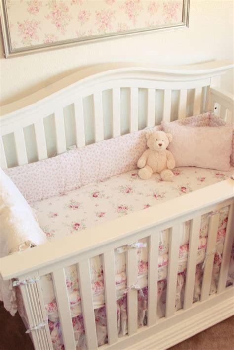 Shabby Chic Nursery Bedding by Madisyn S Shabby Chic Vintage Nursery Project Nursery