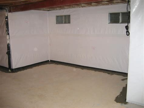 Basement Waterproofing   CleanSpace Vapor Barrier