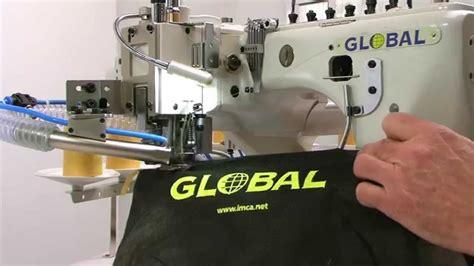 global fs   needle  thread high speed interlock flatlock flatseamer machine youtube