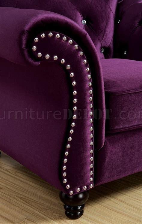 jolanda sofa cmpr plum fabric woptions