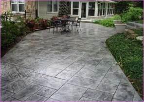 sted concrete patio designs idea home design ideas
