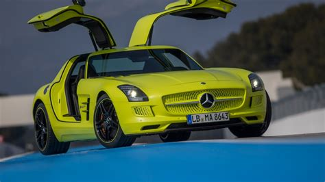 The performance hybrid will produce over 1,000 horsepower at a maximum speed of over 350 km/h. Mercedes-Benz SLS AMG Electric Drive Supercar: First Drive Video