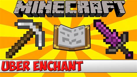minecraft bukkit plugin uber enchant tutorial youtube