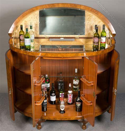 Superb Large Cocktail Cabinet   Antiques Atlas