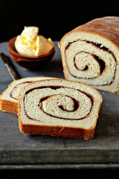 cinnamon swirl bread  baking addiction