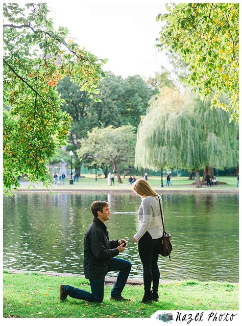 boston public garden proposal hazel photo weddings