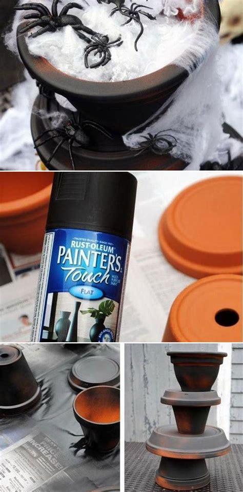 ideas  reuse clay pots  halloween crafts