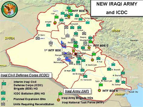 Us Bases Military Iraq Map