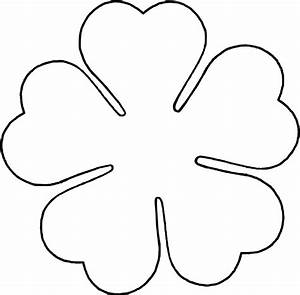 Clip Art Flower Outline - Cliparts.co
