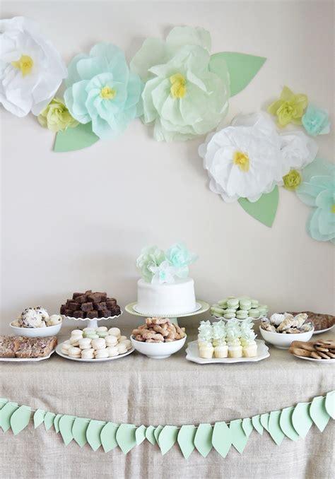 tea bridal shower decorations garden tea bridal shower