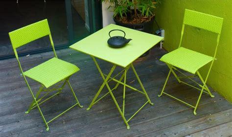 table de jardin tresse pas cher table et fauteuil de jardin pas cher 2 places mezzo finition vert pomme dcb garden