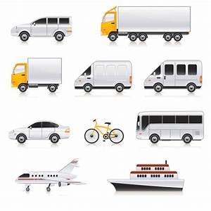 Variety of transport vector Free Vector / 4Vector