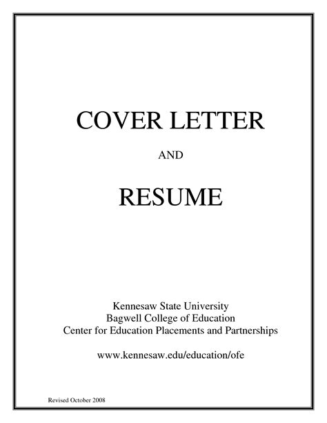 how to do a cover letter for a job resume cover letter