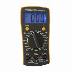 2020 Pocket Size Teaching Digital Multimeter Brand Vc830l