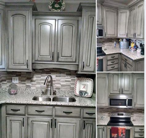 diy black kitchen cabinets grey with black wax kitchen 6801