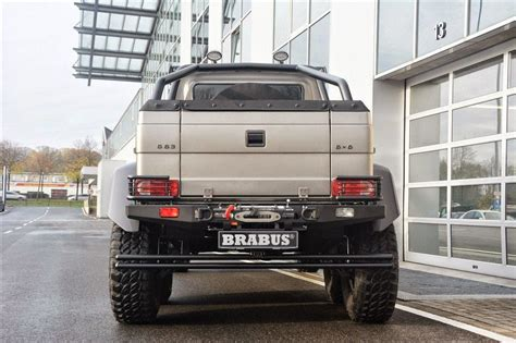 $500,000 monster pickup truck with 6 doors. Mercedes-Benz G63 AMG BRABUS 6x6 | BENZTUNING
