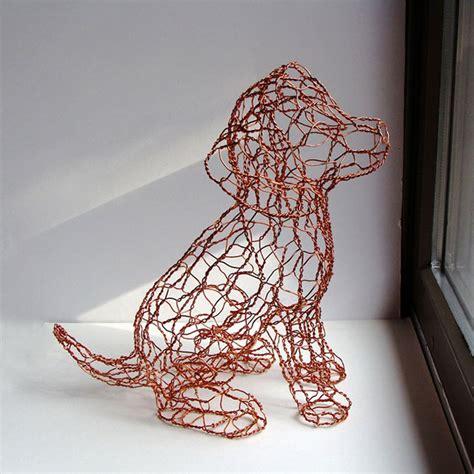 por amor al arte esculturas del alambre