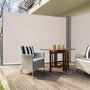 amazoncom tangkula outdoor patio retractable folding side screen awning waterproof sun shade