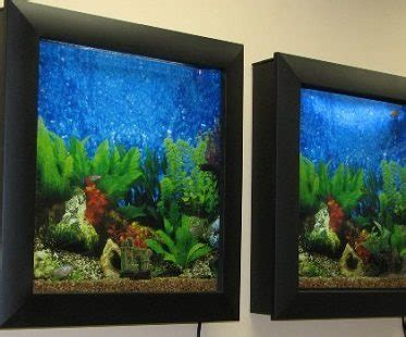 wall mounted aquarium