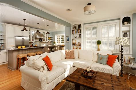 kitchen livingroom ideas to keep kitchen and living room together