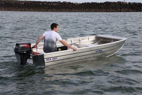 Punt Boat sea aluminium boats punt sea boats