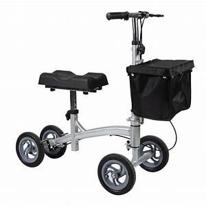 Foldable Knee Walker Scooter Manual Wheelchair