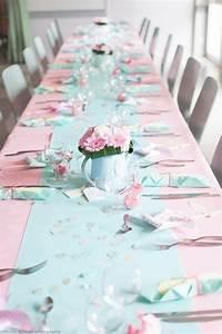 Deco Rose Pale : deco pastel rose mint moulin vent marque place confettis bapt me nina pinterest deco ~ Teatrodelosmanantiales.com Idées de Décoration