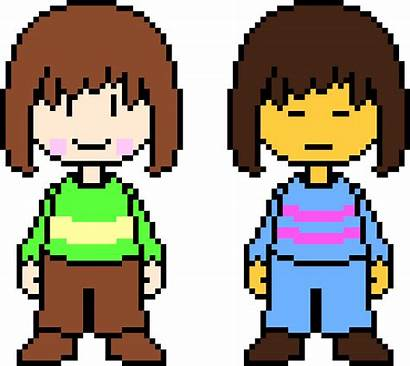 Pixel Maker Frisk Undertale Chara Terraria Sans