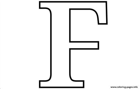Coloring Letter F by Letter F Free Alphabet S2ada Coloring Pages Printable