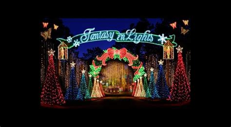 holiday fantasy of lights south florida finds