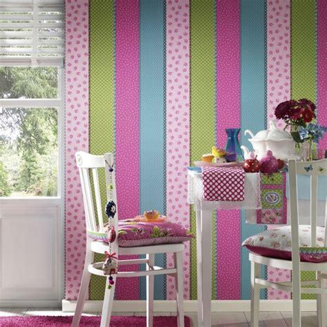 motif chambre fille 25 idées papier peint pour décorer la chambre d 39 enfant