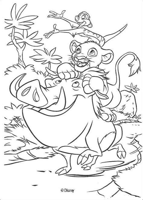 disney lion king coloring pages   print