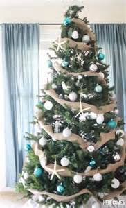 Grandin Road Christmas Trees by 30 Brilliant Coastal Chic Christmas Tree Decorating Ideas
