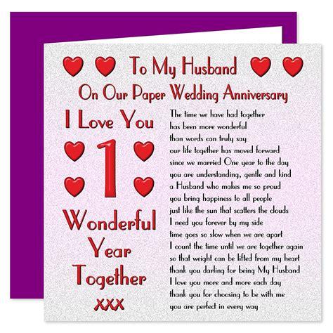 Printable Anniversary Cards For Husband