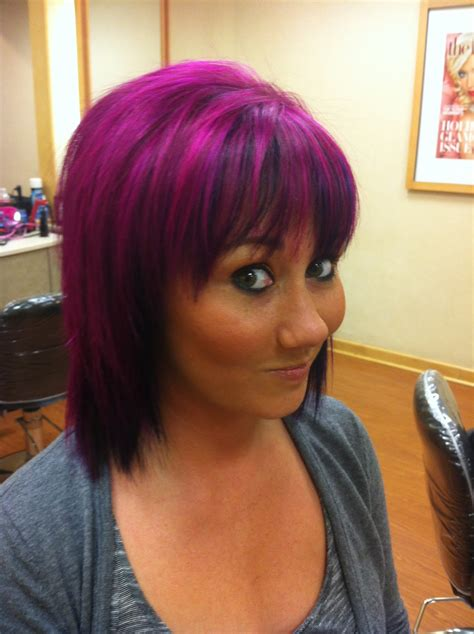 black short hairstyles  highlights hairstyle