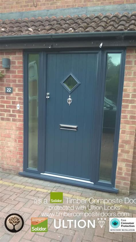 anthracite grey flint   side panels solidor timber