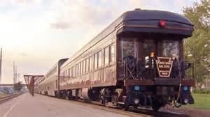 Pennsylvania Railroad Private Car on Amtrak's California ...