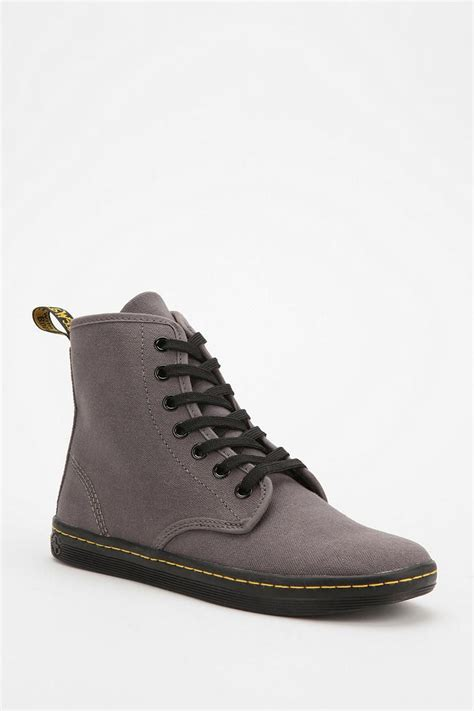 Dr Martens Canvas Shoreditch Boot Urbanoutfitters