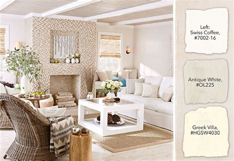 white paint color selection tips on white furniture living