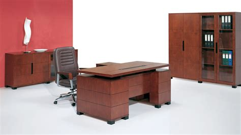 light wood office desk ford executive modern desk with filing cabinets light