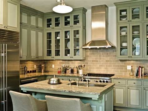 green kitchen walls brown cabinets colorful kitchens with charisma traditional home 6943
