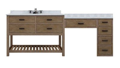 Single Sink Vanity With Makeup Area by Bathroom Makeup Vanity Building A Makeup Station From