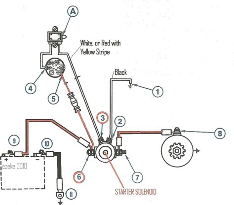 ford mustang starter solenoid wiring diagram wiring