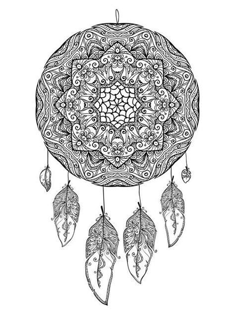 16 coloring pages of Dreamcatchers on Kids-n-Fun.co.uk. On