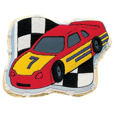 wilton race car novelty cake pantin