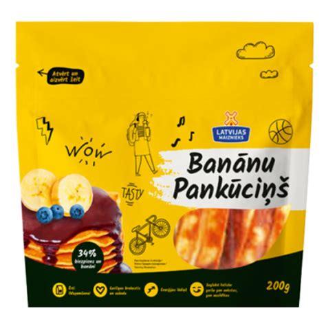 Banānu Pankūciņš | Latvijas Maiznieks