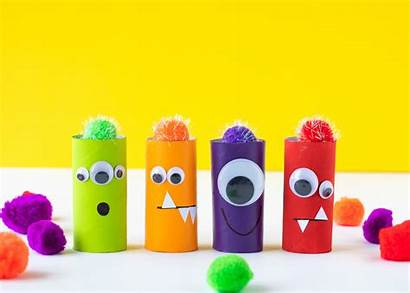 Roll Monsters Toilet Paper Monster Crafts Craft